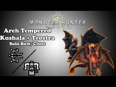 Xxx Mp4 MHW Arch Tempered Kushala And Teostra Solo Bow HBG 3gp Sex