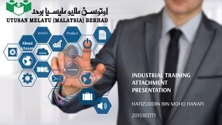 Industrial training presentation - utusan melayu berhad (bangi)