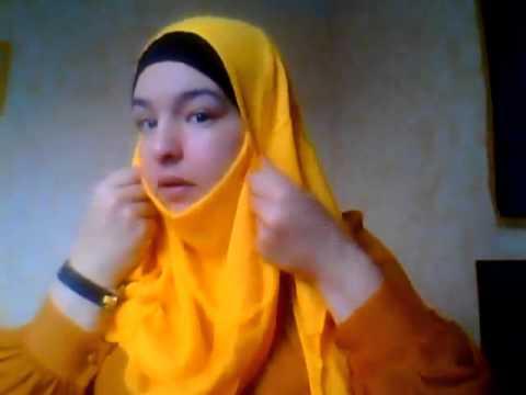 Hijab tutorial Façon Jilbab by Mimoza hijab