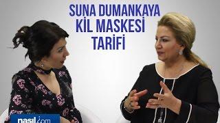 Suna Dumankaya kil maskesi nasıl yapılır?   Bakım-Güzellik   Nasil.com