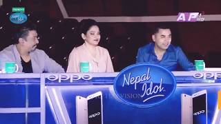 Pani paryo garara || Nepal idol theatre round episode 10
