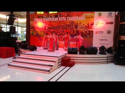 TARI BENTANG TANGERANG Sanggar Seni Puspa Kencana Kota Tangerang