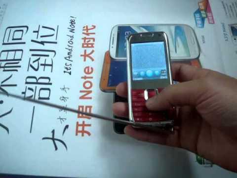 $30 Triple SIM 3 SIM Card Mobile Phone MINI E71 w/ multimedia and even analog TV