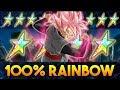 Download Video Download A RAINBOW WELL DESERVED! 100% RAINBOW STAR STR ROSE GOKU BLACK SHOWCASE! (DBZ: Dokkan Battle) 3GP MP4 FLV