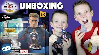Disney Infinity 3.0 Marvel Battlegrounds Unboxing and Gameplay
