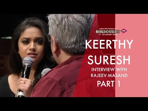 Xxx Mp4 Rajeev Masand Interview With Keerthy Suresh Part 1 Mahanati Team IFFM 2018 Exclusive Me TV 3gp Sex