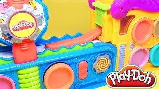 Play Doh Fun Factory Play Doh Mega Fun Factory Playdough Hasbro Toys Review