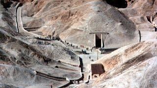 Уникальные артефакты в гробнице Тутанхамона. Раскопки в долине царей.
