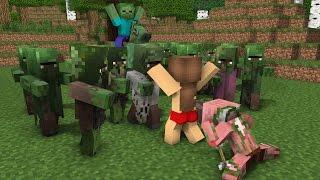Top 6 Monster School - Minecraft Animation