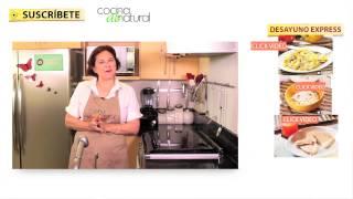 Recetas de desayunos fáciles, rápidos y económicos - Cocina al Natural