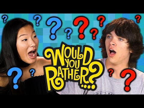 WOULD YOU RATHER Teens React Gaming