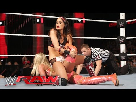 Xxx Mp4 Brie Bella Vs Summer Rae Raw March 7 2016 3gp Sex