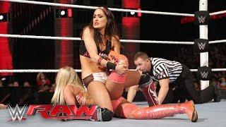 Brie Bella vs. Summer Rae: Raw, March 7, 2016