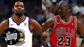 Kevin Durant says Michael Jordan didn