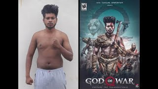 Photoshop God Of War photo Manipulation Tutorial (EASY) / part-1
