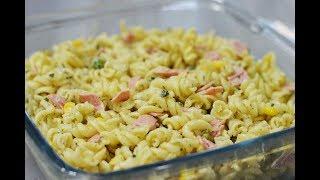 طرز تهیه خوشمزه ترین سالاد ماکارونی | Best Pasta Salad Recipe