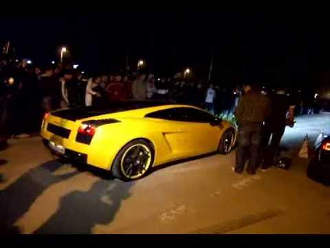 Lamborghini Gallardo Vs Audi R8 KO Racing Cluj
