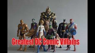 10 Greatest DC Comic Villains | Amazing Top 10