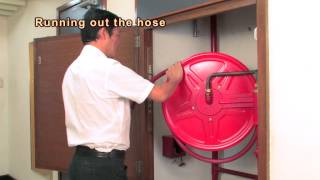 Proper Operation of Hose Reel