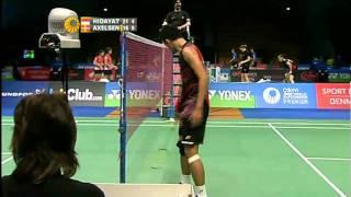 R16 - MS - Taufik Hidayat vs Viktor Axelsen - 2011 Yonex Denmark Open