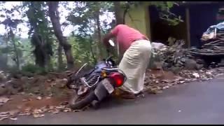 Bike Stunt Fail - Trying Wheelie