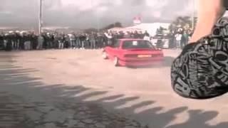 تفحيط BMW خطير
