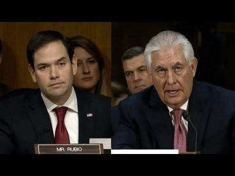 Marco Rubio Attacks Trump's Secy of State Over Russia & Putin