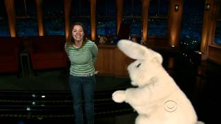 Sid the cussing bunny meets Gina