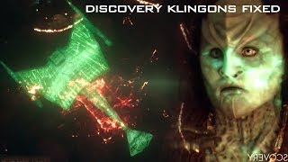Klingons FIXED for Season 2 of Discovery - even a real D7!!!!!!