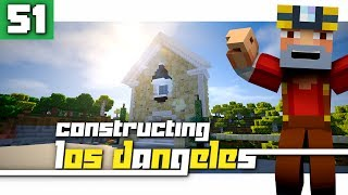 Constructing Los Dangeles: Season 2 - Episode 51! (Starting a Mansion!)