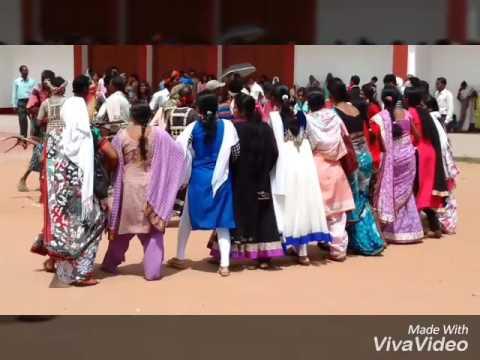 Nagpuri Chain Dance in Catholic Church in ll Ambikapur ll llCG ll ll 720p ll ll HD ll