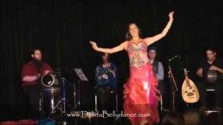Dalida ~The Art of Drum Solo ~ with Badrawn at Austin Bellydance Convention