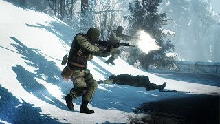 HEAVY EPIC COMBAT in the Mountains ! In Cool FPS Battlefield Bad Company 2