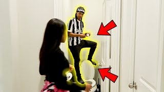 FLUSHING YOUR AIRPODS IN THE TOILET PRANK!!! *GONE WRONG*
