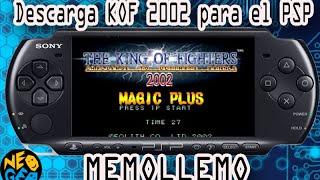 Descargar KOF 2002 plus Para PSP (Emulador NEO GEO)
