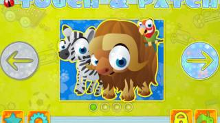 Childrens Stickers - Touch and Patch: Free Shapes Puzzle for Kids (on iPhone/ iPad/ Android)