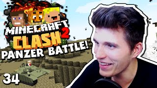 NIEMAND KANN UNS STOPPEN - PANZER BATTLE! Minecraft CLASH 2 #34