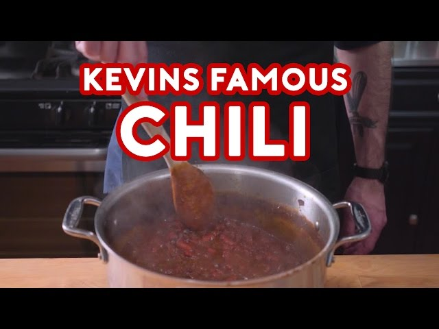 Binging with Babish: Kevin's Famous Chili from The Office