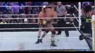 WWE Triple H vs Brock Lesnar Wrestlemania 29 Highlights