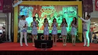 Pengenalan Diri Semua Penyanyi Superstar Group CNY 2017 Di BCS MALL