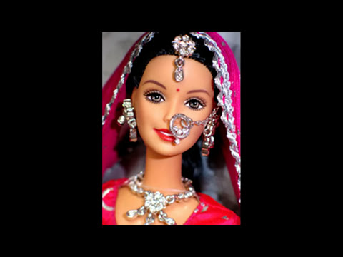 Barbie Doll in Indian dress and sarees
