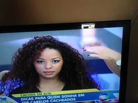 mulher perde o cabelo ao vivo no hoje em dia da rede record