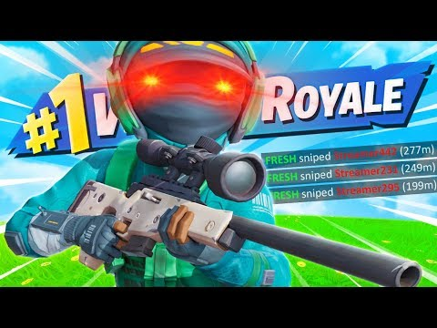 Why they call me the best sniper in Fortnite