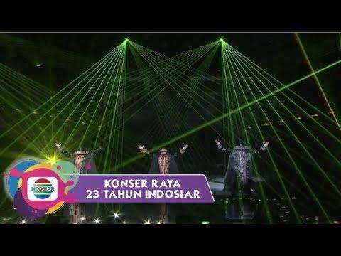 Spektakuler Opening Overture Konser Raya 23 Indosiar