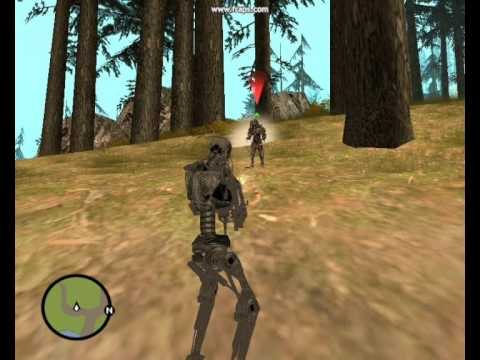 Predator and Terminator In gta san andreas Mission Mod