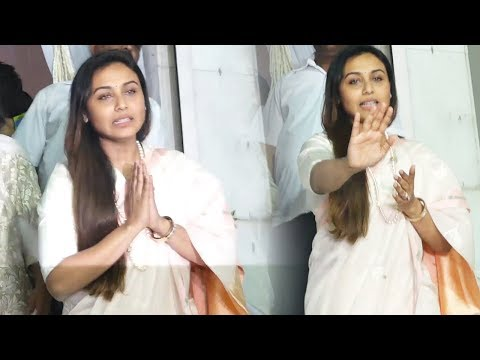 Xxx Mp4 Rani Mukerji BREAKS Down At Her Father S Prayer Meet At Iskcon 3gp Sex
