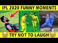 IPL 2020 Funny Moments 😂😂   Most Funniest Moments In IPL   Kohli Dance, Chahal, RCB