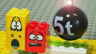 Stomp Larva house stop animation sponge bob disney play toy lego block 우당탕 라바 하우스 레고 장난감 인형 블럭