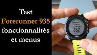 Test Garmin Forerunner 935