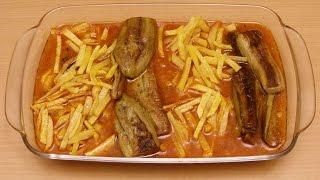 Persische Kochrezepte-Gheyme bademjan ( قیمه بادمجون )